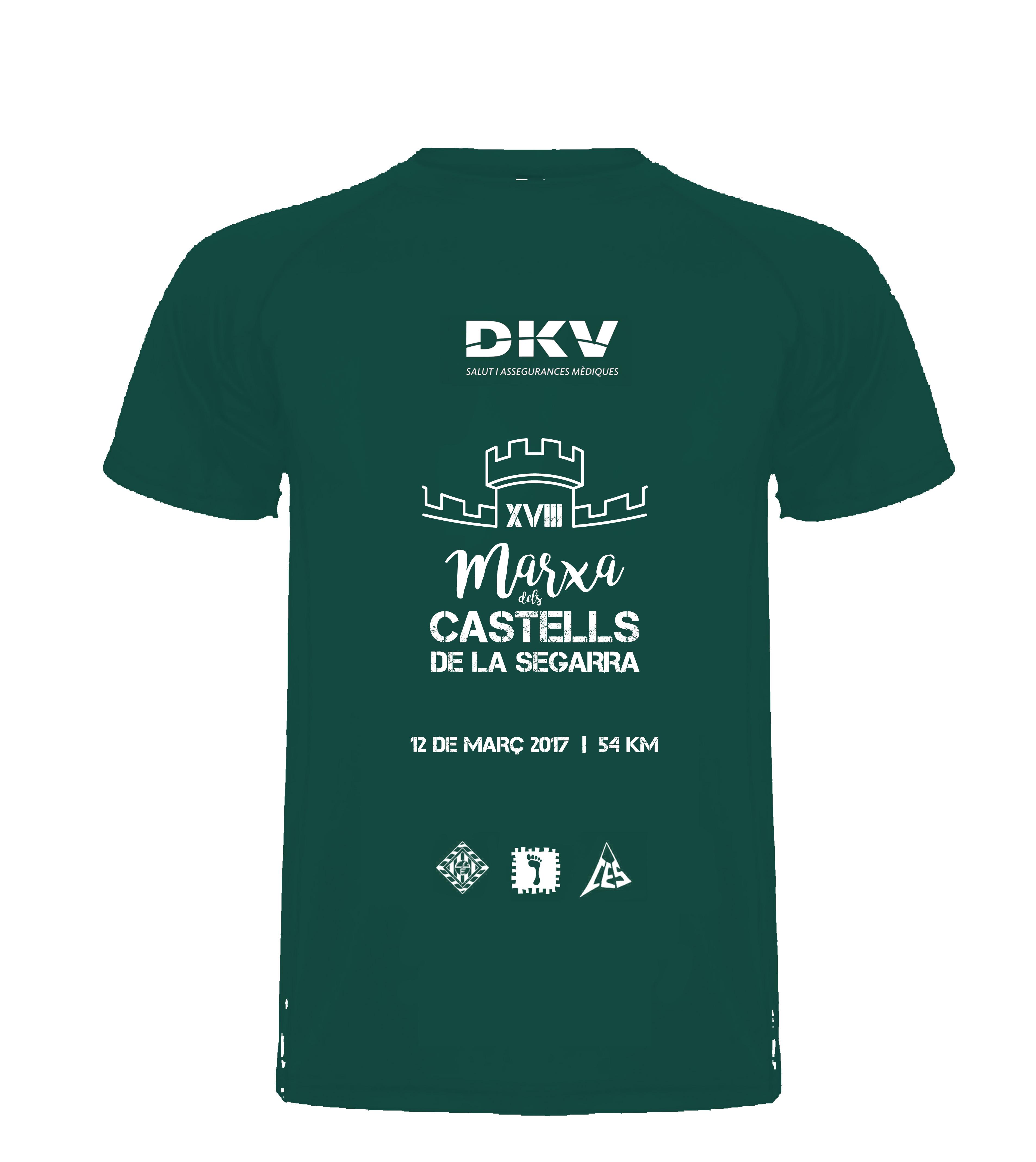 La samarreta de la Marxa dels Castells 2017 a punt!
